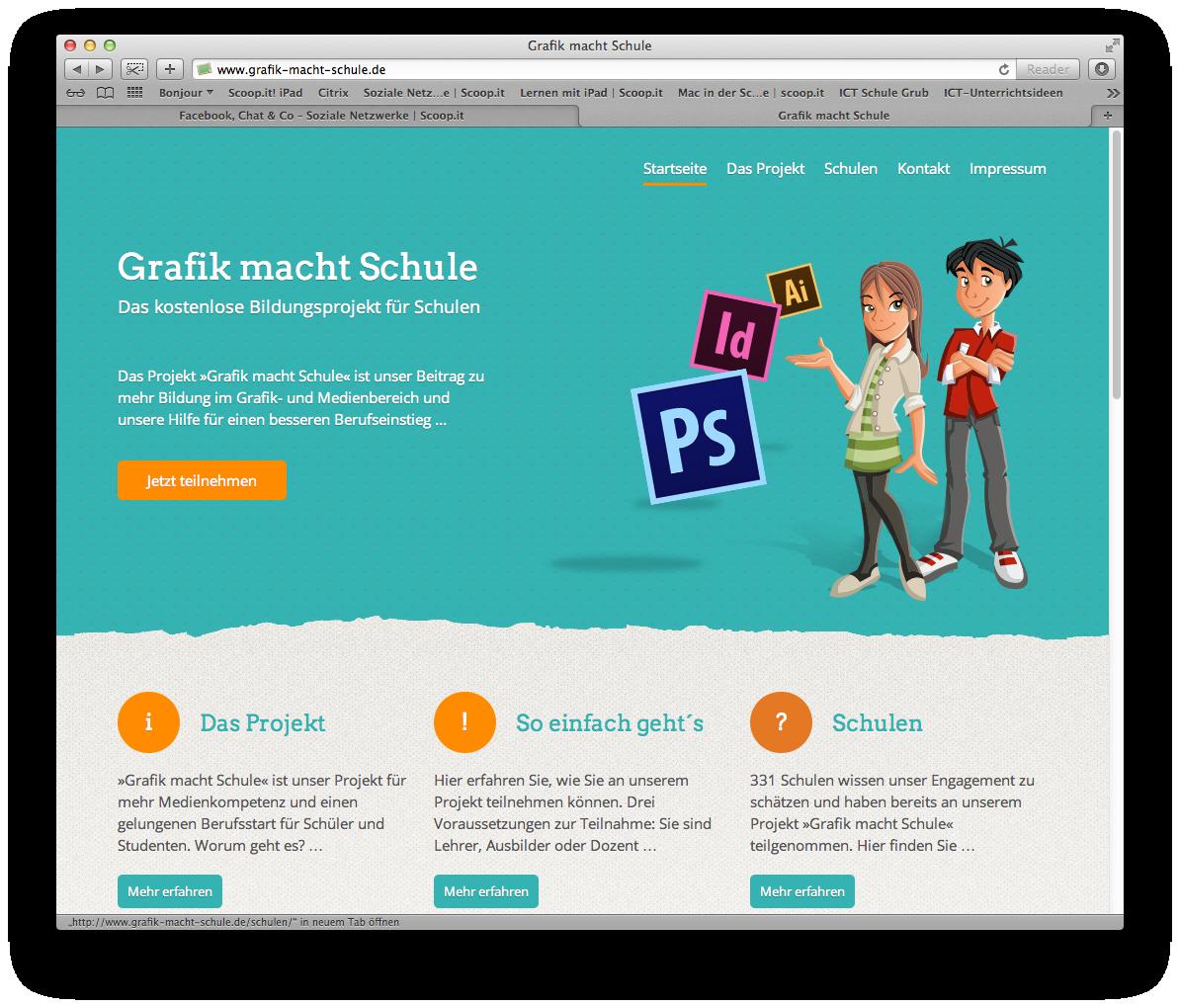 Grafik macht schule das kostenlose bildungsprojekt f r for Schule grafik